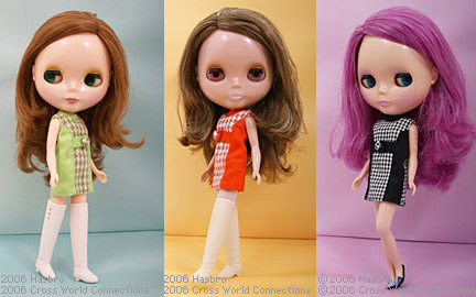 takara prima dolly blythes