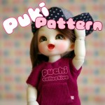 New Pattern: PukiPuki/Lati White T-shirt