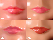 comparing stock blythe lips